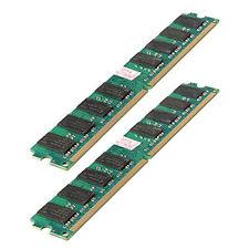4GB(2X2 Gb)MEMORIA MEMORY RAM PC2 5300 667Mhz DDR2 240PINES AMD PC HIGH DENSITY