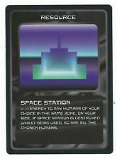 Doctor Who Black Border CCG Resource Card Space Station Common Card Good