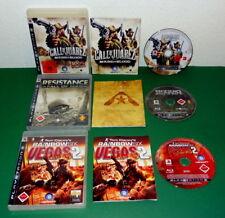 3 Spiele: Resistance, Rainbow Six Vegas 2 Call of Juarez Bound PS3 Playstation 3