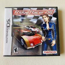 Ridge Racer DS (Nintendo DS, 2004) New Sealed