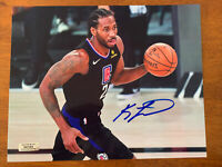 Kawhi Leonard Autographed Hand Signed 8x10 Photo Los Angeles Clippers COA