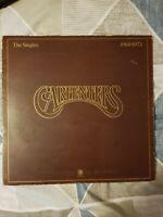CARPENTERS - The singles 1969 - 1973  - Vinyl LP VGC FREE P&P