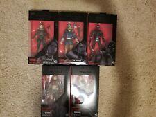 Hasbro Star Wars Black Series Rogue One Bundle: Jyn, Chirrut, K2SO, Baze,Cassian