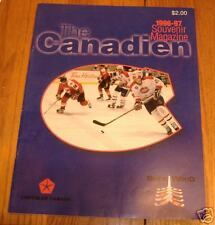 fredericton canadians program  1996 vs springfield