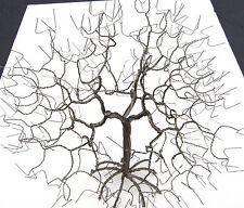 wire tree sculpture ebay Small Gauge Plugs wire tree art sculpture