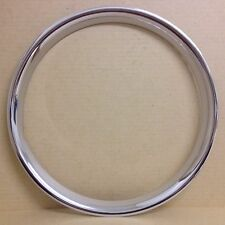 "Jaguar XK120 - Jaguar XK140 - Jaguar Mk 7 / Mk 8 16"" Chrome Rim Embellisher."