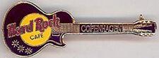 Hard Rock Cafe COPENHAGEN LES PAUL GUITAR PIN Catalog #1986 1LC