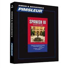 Pimsleur Learn/Speak SPANISH Language Level 3 CDs NEW!!