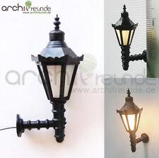 2 x LED Wall lamps Wall lamp 4cm Modelmaking 1:30 Model railway 1 gauge