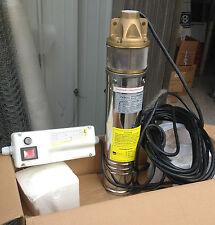 ELETTROPOMPA SOMMERSA 1 HP idroci POMPA ELETTRICA 750 W ACQUE CHIARE