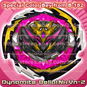 Takara Tomy Beyblade Brust DB・B-182・Dynamite Belial・Nx・Vn-2・Bey ONLY・No Box