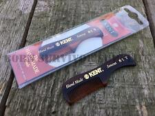 Kent Handmade Moustache & Beard Comb 81T Pocket Sized EDC Brush Gents Mini Gift