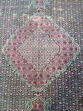 Persian Tabriz design Oriental carpet, silk and wool.