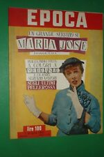Période 1951 Maria Jose 'Vittorio Emanuele De Savoie Amedeo Nazzari Alida Valli
