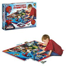gioco giocattolo per bambini Clementoni il tappeto interattivo spiderman