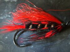 FLY FISHING FLIES SALMON RED WING BLACK BIRD # 6 STREAMER FRONTIER STEELHEAD