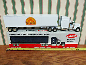 PPG Sungate Glass Peterbilt Semi With Van Trailer By SpecCast 1/64th Scale