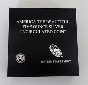 2011 P ATB 5 Ounce Silver Uncirculated Coin, Olympic, NP8, COA, Mint Box