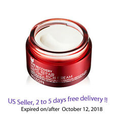 Mizon Skin Recovery Night Repair Melting Rich Cream 50ml  + Free Gift Sample !!