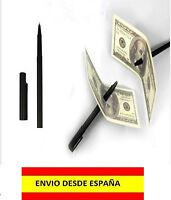 TRUCO MAGIA ILUSIONISMO MAGOS BOLIGRAFO QUE ATRAVIESA EL BILLETE SIN DAÑARLO