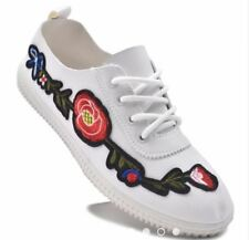 Rave Rosa Floral Women's Sneakers Shoes - (WHITE) SIZE 40