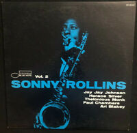 SONNY ROLLINS {Volume 2} Vinyl 1973 Blue Note BST-81558 Record LP Album