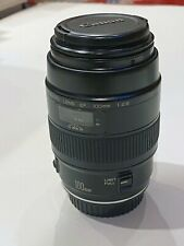 Canon EF 100mm f/2.8 Macro USM Lens, USA, EXC condition, with front & rear caps