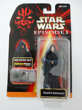 1998 Star Wars Episode I  Darth Sidious Commtech Chip Hasbro Action Figure