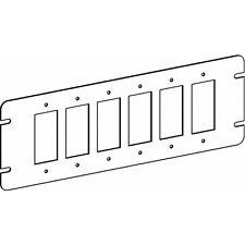 Orbit 4M6-GFI 6 Gang Switch Box Cover GFCI