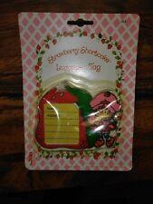 vintage strawberry shortcake luggage 1980s nos very rare!