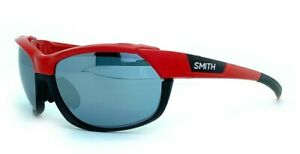 SMITH OPTICS OVERDRIVE Men Women Wrap SUNGLASSES SET Red Black Silver XB LZJ 61