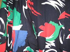 LONG COTTON DRESS CUSTOM MADE BANGKOK CAFTAN STYLE SEE MEAS. X-LG BLACK & COLORS