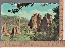 1950s USED POST CARD GARDEN OF THE GODS COLORADO SPRINGS CO