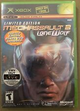 MechAssault 2: Lone Wolf - Limited Edition (Xbox) Brand New. RARE