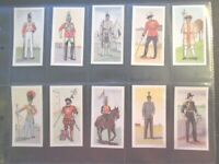 1954 Morning Foods BRITISH UNIFORMS military Trade set 25 cards like tobacco