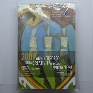 2 euro 2009 - Année de la créativité et de l'innovation - Saint Marin (BLISTER)