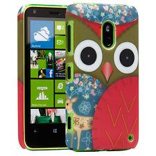 Microsoft Nokia Lumia 620 Hard Case Tasche Hülle Cover Schale Etui Eule 1 A9