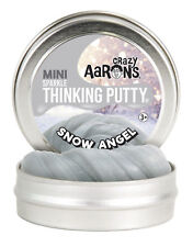 "Snow Angel Sparkle Christmas Holiday Crazy Aaron's Thinking Putty 2"" tin .47oz"