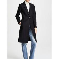 NWT Rag & Bone Daine Tailored Wool Coat in Black, Size 4 Women's