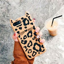 Silicone Shockproof  Cute Cat TPU Soft Phone Case Cover For iPhone X 8 7 Plus 6s