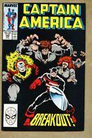 Captain America #340-1988 vf+ 8.5 Iron Man Mister Hyde the Falcon Griffin D-Man