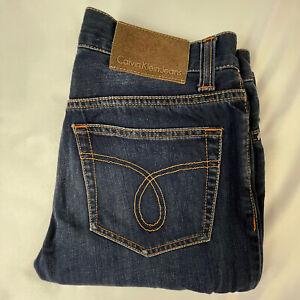 Calvin Klein Women's Medium Wash Straight Leg Jeans K5-001 - W29 L33