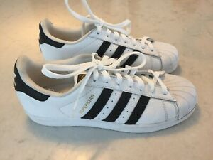 Size UK 8 - adidas Superstar  White Trainers