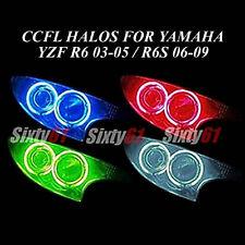 Yamaha R6 2003-2005 / R6S 2006-2009 CCFL Demon Halo Angel Eyes lights rings