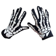 Cycling Gloves Halloween Horror Skull Claw Bone Skeleton Goth Racing Full CA