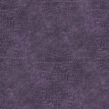 G67506 - Natural FX Black & Purple Animal Skin effect Galerie Wallpaper