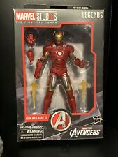 marvel legends first 10 years iron man