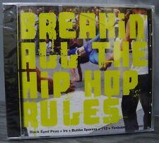 Breakin All The Hip Hop Rules CD Sampler B E Peas Irs Bubba Sparxxx New '03 RARE