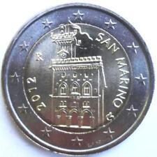 SAN MARINO - 2012 -   2 Euro - KM 486 UNC from roll         bimetallic