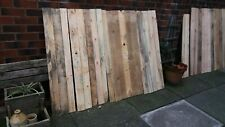 10 x Mixed Reclaimed Pallet Boards Wood Planks Timber Wall Cladding Wooded Slats